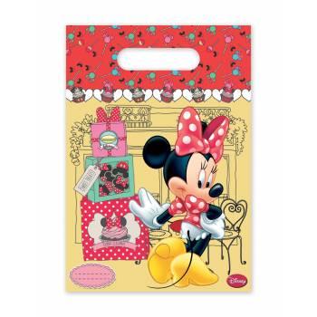 Sacs anniversaires Minnie cupcakes