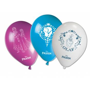 8 Ballons Reine des neiges Disney