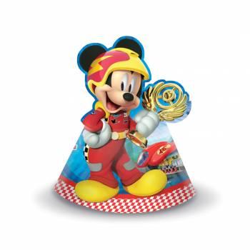 Lot 6 Chapeaux en carton Mickey & the Roadster Racers