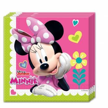 Serviettes thème Happy Minnie