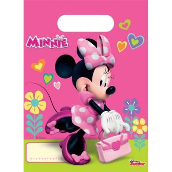 6 Sachets de fête Minnie happy