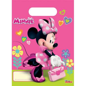 6 Sachets de fête Minnie happy
