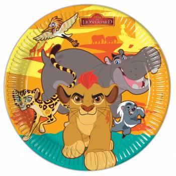 Lot 8 Assiettes Roi Lion