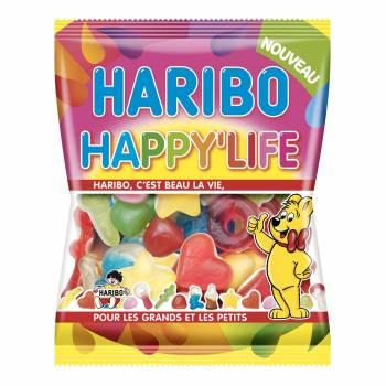 Bonbons Haribo Happy life 120gr