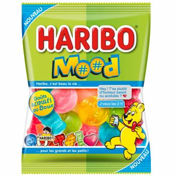 Bonbons Haribo Mood 100gr