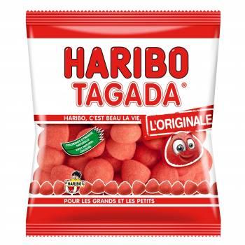 Bonbons Fraise Tagada Haribo 120gr