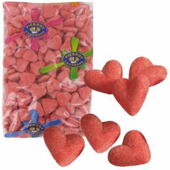 250 bonbons Coeurs guimauve 1.5kg