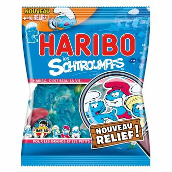 Bonbons SCHTROUMPHS Haribo 120gr