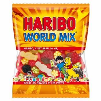 Bonbons world mix Haribo 120gr