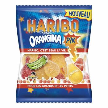 Mini Sachet Haribo Orangina pik