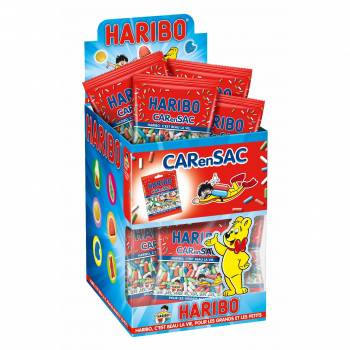 Mini sachet Haribo carensac