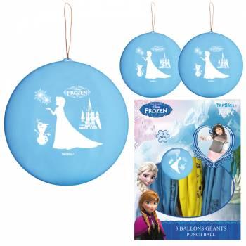 3 Ballons à frapper géant La Reine des Neiges