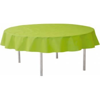 Nappe ronde intissée verte