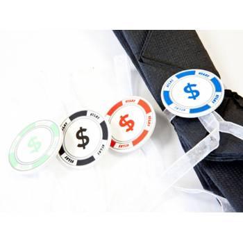 4 Décors de serviettes Jetons de poker