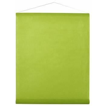 Tenture de salle vert