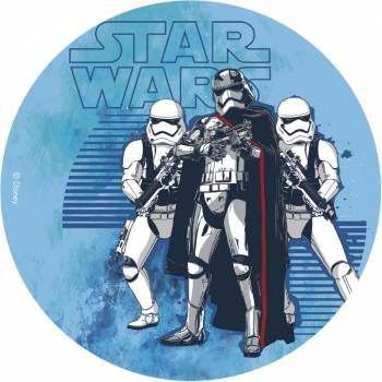Disque en sucre 16cm Star Wars