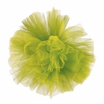 décors à suspendre pompon vert anis