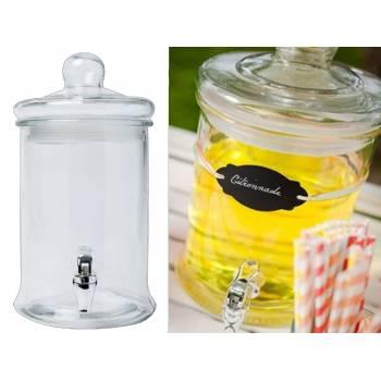 Limonadier en verre 5 Litres