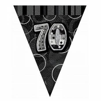 Fanions 70 ans Black/White