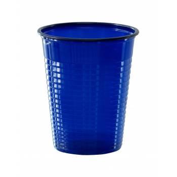 Gobelets plastique éco bleu marine