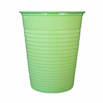 Gobelets plastique éco vert anis