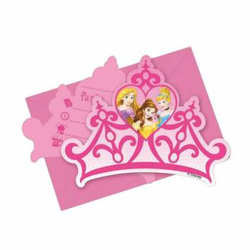 Invitations Princesse Disney