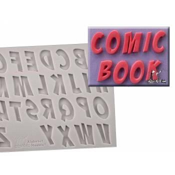 Moule à empreinte Alphabet en silicone