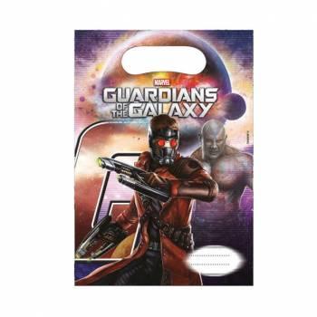 Lot 6 Sachets à confiseries/jouets Les Gardiens de la Galaxie
