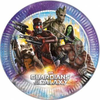 Lot 8 Assiettes Les Gardiens de la Galaxie