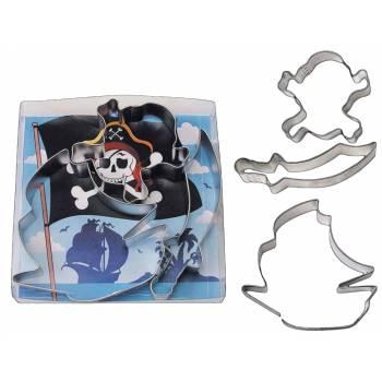 3 Emporte pièces Pirate