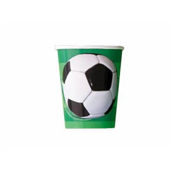 8 gobelets Football club