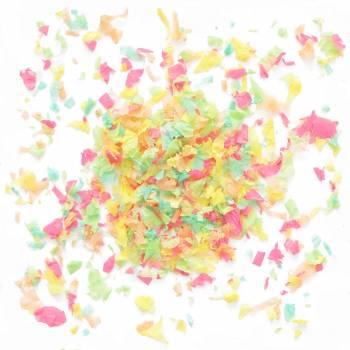 Confettis en papier colore 20gr