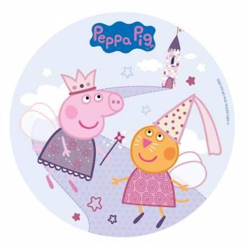 Photo comestible Peppa Pig Fée