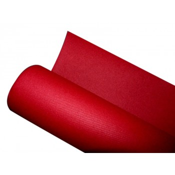 Nappe jetable non tissée rouge
