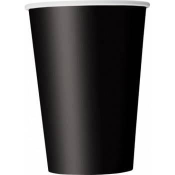 14 Gobelets en carton noir