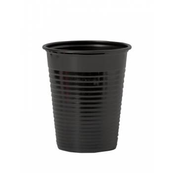 Gobelets plastique éco noirs