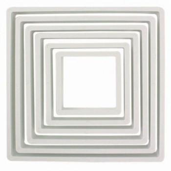 Set 6 emporte pièces carrée PME
