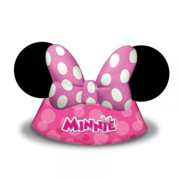 Chapeau anniversaire Happy Minnie