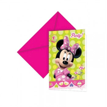 Invitation anniversaire Minnie