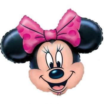 Ballon super Géant Tête de Minnie