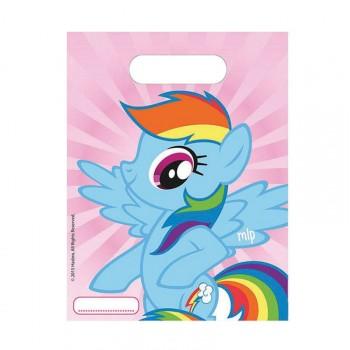 Sacs anniversaire My little pony rainbow