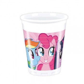 Gobelets My little pony rainbow