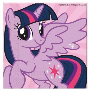 Serviettes My little Pony Rainbow