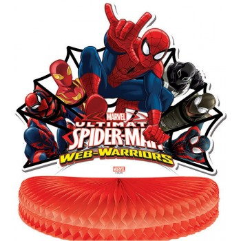 Centre de table Spiderman Ultimate Web-Warriors en carton