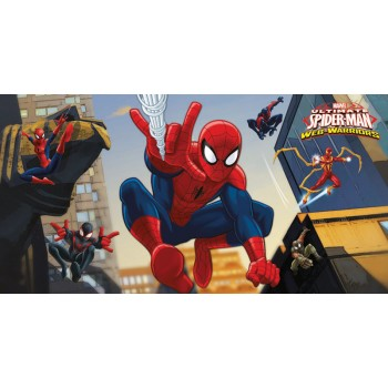 Décor mural plastifié Spiderman Ultimate Web-Warriors