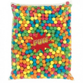 2.5 Kg Billes de Chewing gum multicolore