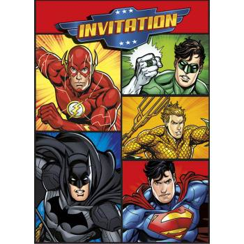 8 invations Justice league