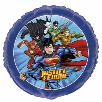Ballon hélium Justice league