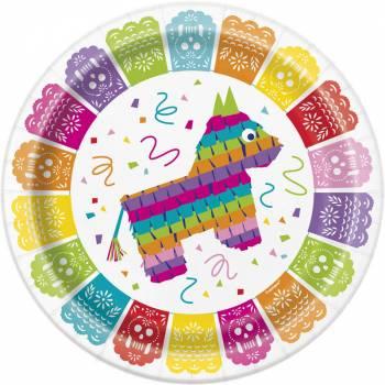 8 Assiettes fiesta