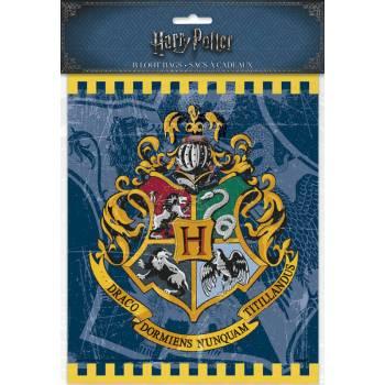 8 sachets de fête Harry potter